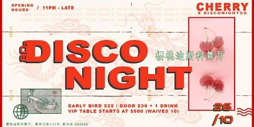 80S DISCO NIGHT X CHERRY DISCOTHEQUE