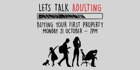 Adulting - Buying Your First Property tickets