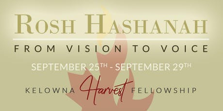 Rosh Hashanah: From Vision to Voice tickets