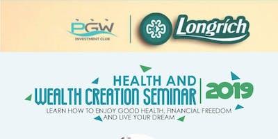 Health and Wealth Creation Seminar 2019