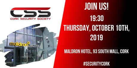 Cork Security Society - Inaugural Event tickets