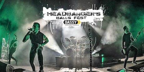 Headbanger's  Balls Fest 2020 billets
