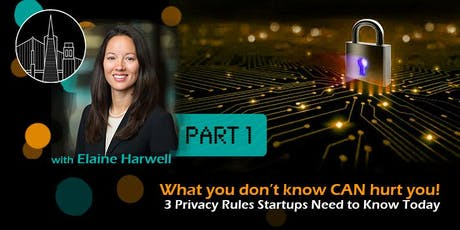 Data Privacy Laws Startups Need to Know - What You Don't Know CAN Hurt You! tickets