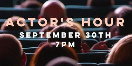 Actor's Hour - A Speakeasy for Artists! tickets