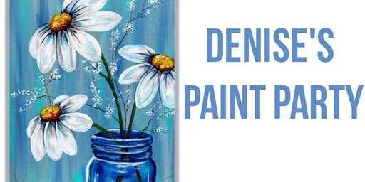 Canvas Paint Party (Denise-Private Party)