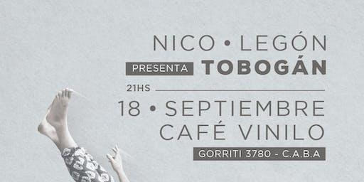 Nico Legón presenta Tobogán
