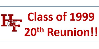 HFHS Class of 1999: 20th Class Reunion!