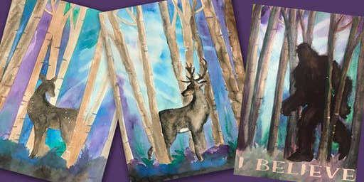 Twilight Forest - Doe, Buck or Bigfoot