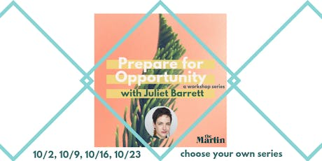 Prepare for Opportunity: a professional development workshop tickets