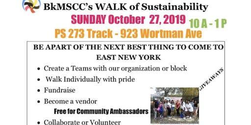 BkMSCC 2019 Walk for Sustainability