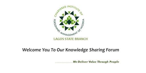 CIPM LAGOS STATE BRANCH KNOWLEDGE SHARING FORUM