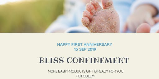 Baby Products Giveaway 2019  -Free-  by Bliss Confinement & Retreat Centre