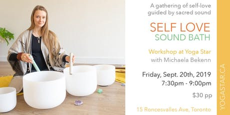 Self Love Sound Bath | Friday, September 20th 7:30-9:00pm tickets
