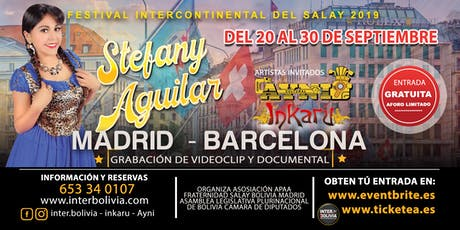 FESTIVAL INTERCONTIENTAL DEL SALAY 2019 entradas