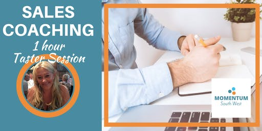 Sales Coaching - a personal taster session to get your sales soaring