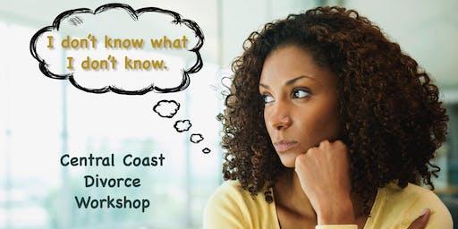 October Central Coast Divorce Workshop
