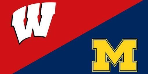 Michigan vs. Wisconsin Football Watch Party