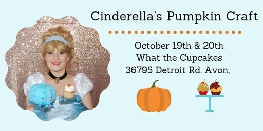 Cinderella's Pumpkin Craft at What the Cupcakes