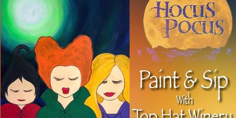 Hocus Pocus Paint & Sip @ Top Hat Winery tickets