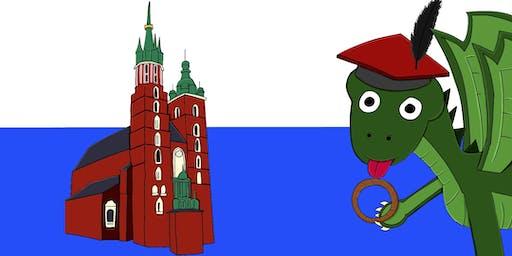 Cartoon workshops: I am the city. / Warsztaty komiksowe: Jestem miasto.