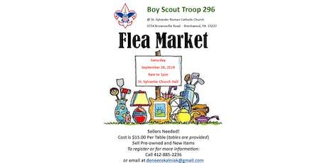 Boy Scout Troop 296 Flea Market tickets