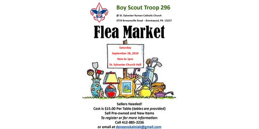 Boy Scout Troop 296 Flea Market