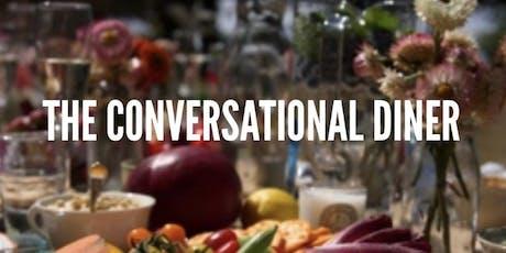 The conversational diner- Greek tickets