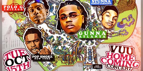 Welcome To Panther World The Concert With Live Performances By: Gunna,Polo G, Pop Smoke and Stunna 4 Vegas  tickets