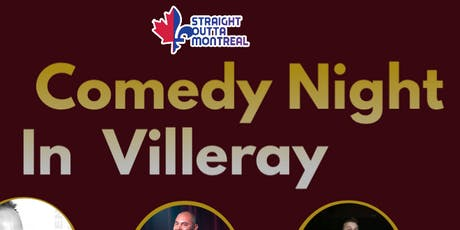 Comedy Montreal ( Stand Up comedy ) Comedy Night in Villeray tickets