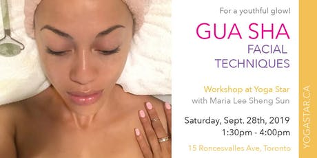 Gua Sha Facial Techniques for a youthful glow tickets