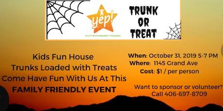 Halloween Trunk or Treat- YEP! tickets