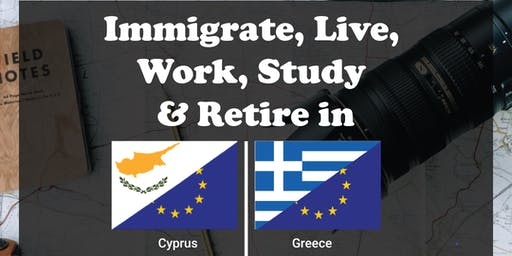 Fast-Track Immigration  for Citizenship or PR to Cyprus or Greece