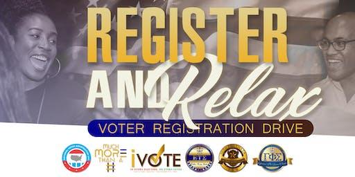 Register & Relax: Voter Registration Drive
