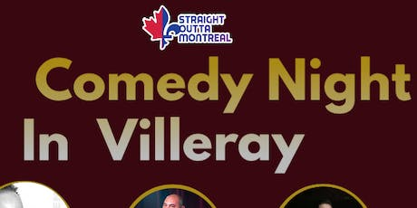 Stand Up Comedy Montreal ( Comedy Night in Villeray ) tickets