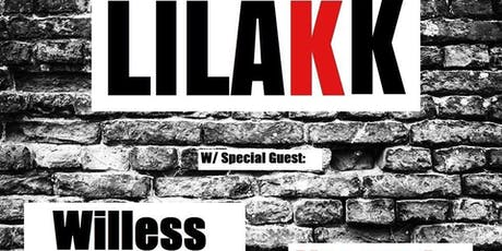 Lilakk & Willess at the Wormhole tickets