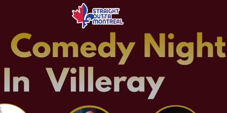 Stand Up Comedy ( Comedy Night In Villeray ) tickets