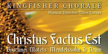 Christus Factus Est Concert - St John the Baptist, Leicester tickets