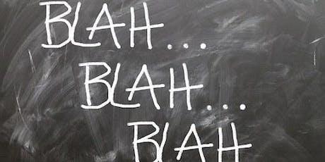 Paura di parlare in pubblico? Partecipa a Toastmasters: Public Speaking biglietti