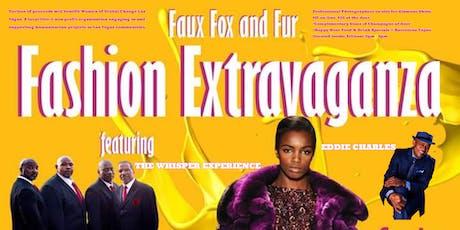 Faux Fox Fur Fashion Extravaganza with The Whisper Experience & Eddie Charles tickets