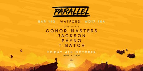 Parallel presents: Bar 143 tickets