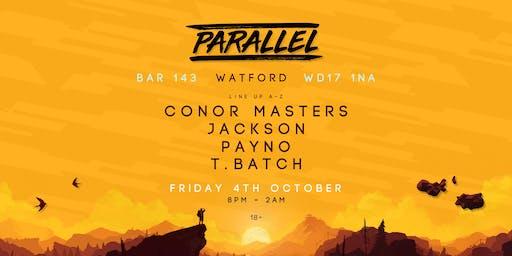 Parallel presents: Bar 143