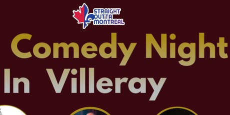 Montreal Stand Up Comedy ( Comedy Night in Villeray ) tickets