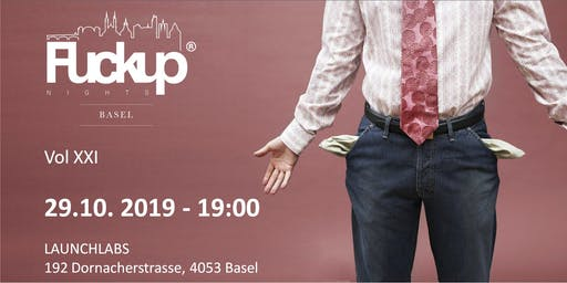Fuckup Nights Basel Vol 21