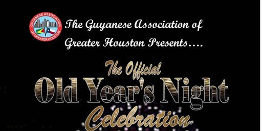 Guyanese Association of Houston's Official Old Year's Night Celebration