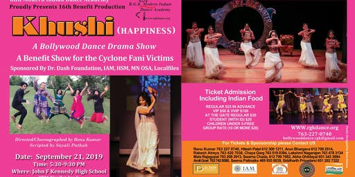 Khushi (Happiness), A Bollywood Musical Dance Drama