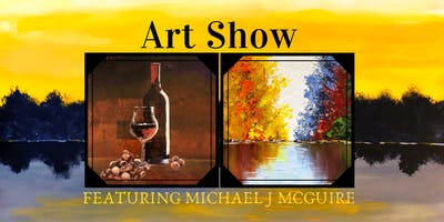Michael J McGuire's 3rd Annual Harbour Trees Art Show