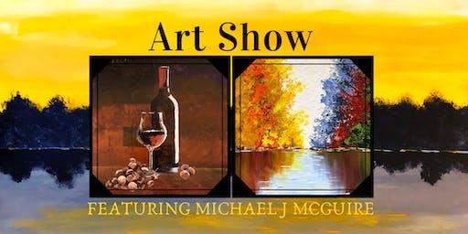 Michael J McGuire's 3rd Annual Harbour Trees Art Show