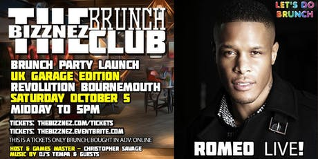 The Bizznez Brunch Club | UK Garage Edition, Launch Party tickets