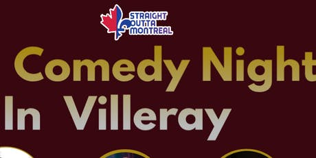 Montreal Comedy Show ( Stand Up Comedy ) Comedy Night Villeray tickets