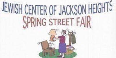 Jewish Center of Jackson Heights Spring Street Fair